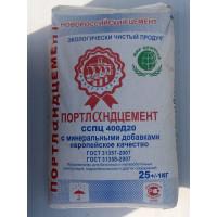 Цемент ССПЦ 400 Д20 (25кг) ПОРТЛАНДЦЕМЕНТ