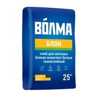 """Клей монтажный для газобетонных блоков ВЛМА """"Блок"""" 25кг"""