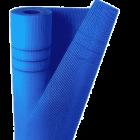 Сетка стеклотканевая штукатурная. ячейка 5мм х 5мм (синяя) плотность 160 (10м2)