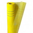 Сетка стеклотканевая штукатурная. ячейка 5мм х 5мм (желтая) плотность 145 (10м2)