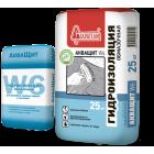 Гидроизоляция для душевых АкваЩит W6 Обмазочная, 25 кг