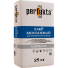 """Клей монтажный для газобетонных блоков """"Лайтблок"""" (25кг)"""